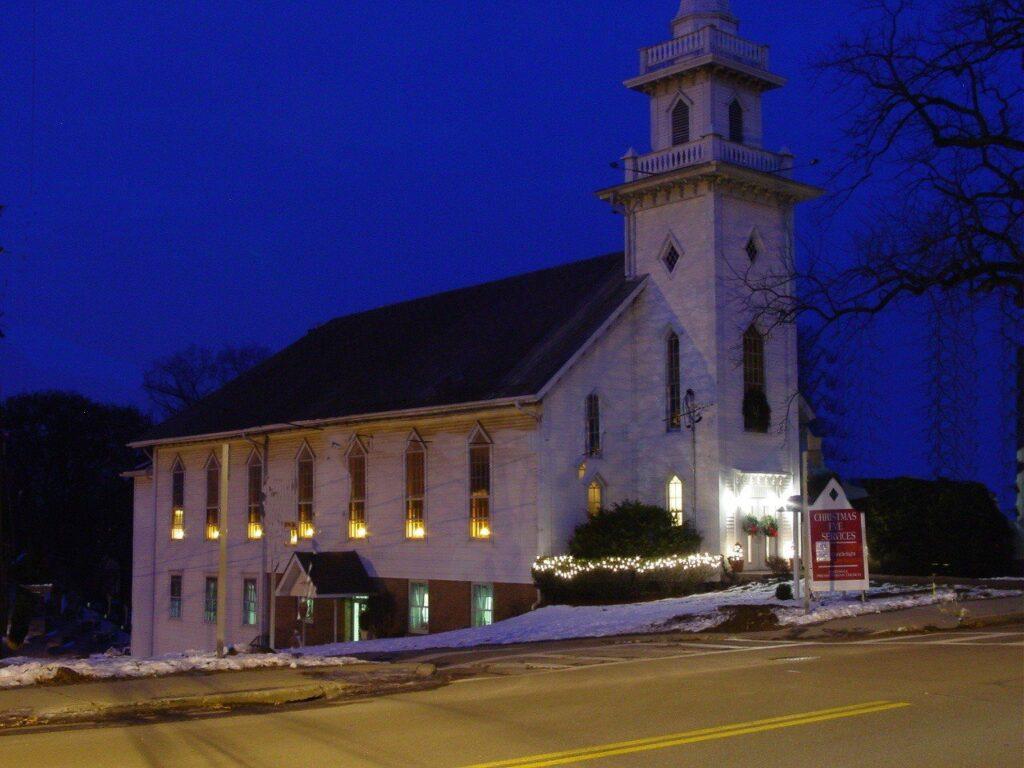 Church on Christmas Eve