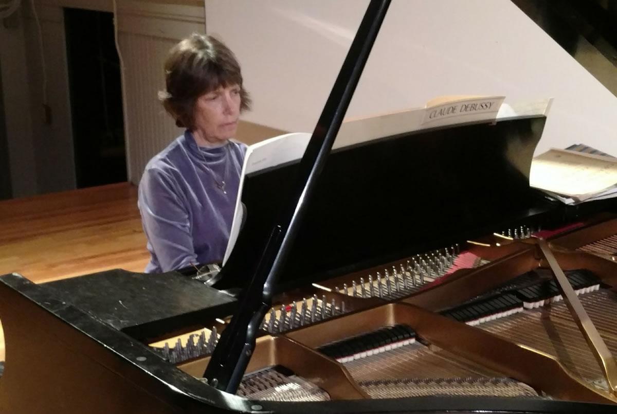 Ruthanne Schempf at Piano