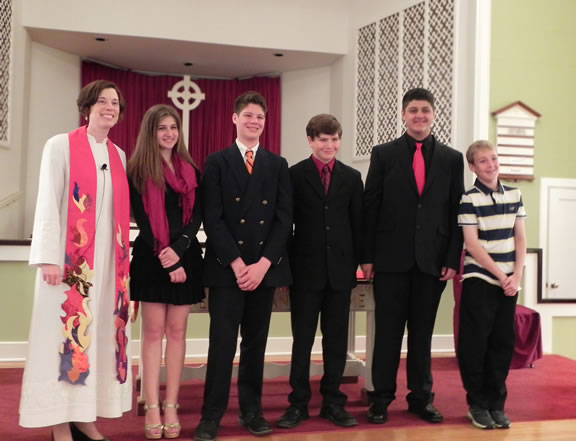 confirmation class 2013