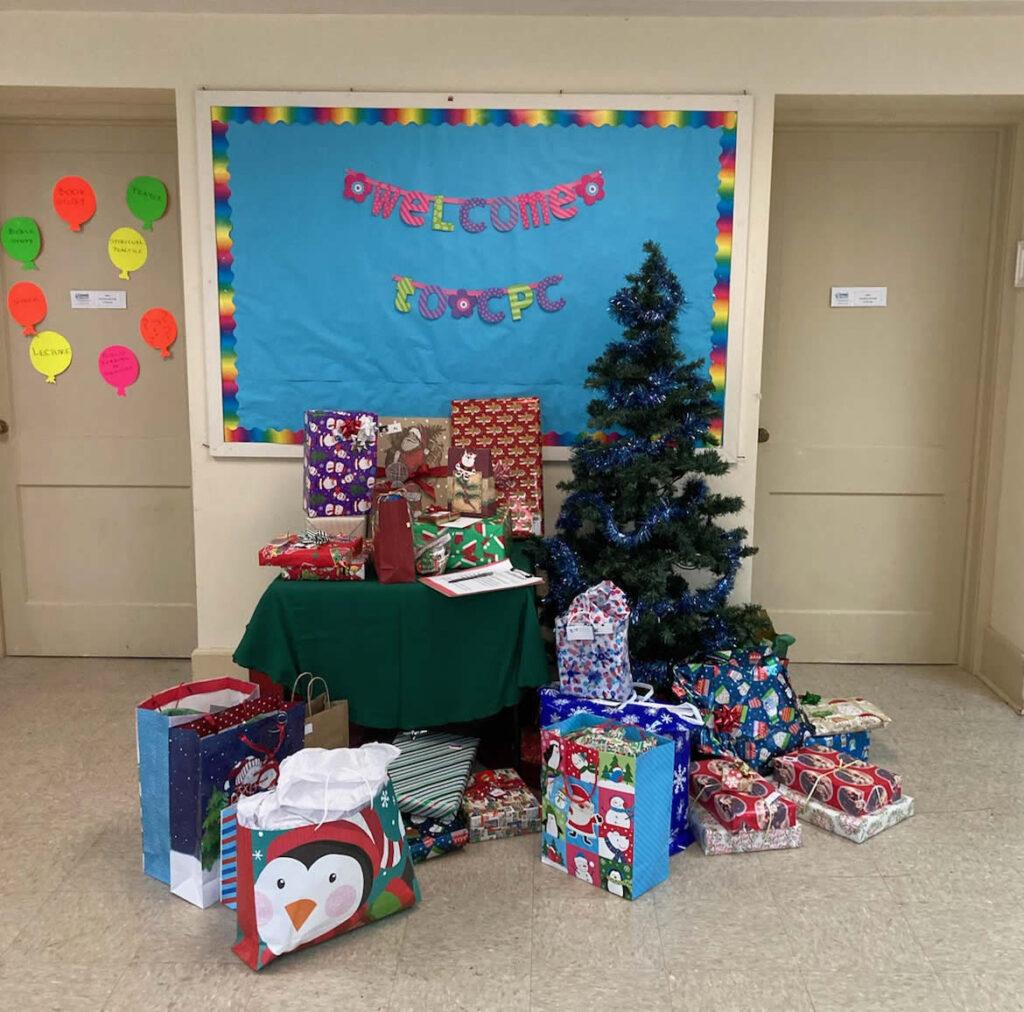 gifts for 3 local families